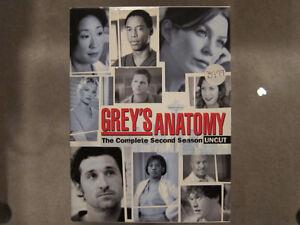 Grey's Anatomy - Season 2 Uncut DVD Set