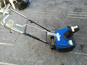 Electric snowblower 18 inch $60.00