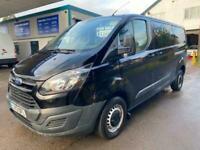 Ford Transit Custom 2.2 TDCi 125ps Factory Crew Cab Van LWB Full MOT No Vat