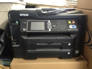 Epson WF 3630 All-in-one Printer, Fax, Scan, Copier For Sale