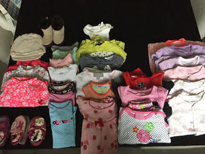 Lot of Baby GIRL Clothing 3 - 6 Months