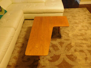 Mid Century Boomerang Coffee Table by Snyder's Furniture