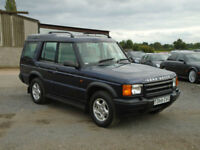 1999 Land Rover Discovery 2.5Td5 Td5 ES (7 seat) 81000 MILES