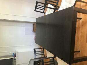 Ikea dinning table for 6 or 8