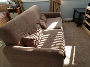 Light Brown Ikea Couch