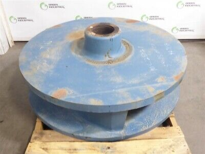 Surplus 686498 48 Ni-hard 3 Vane Impeller For Metso Minerals 20x20 Slurry Pump