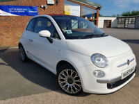 2009 Fiat 500C 1.4 LOUNGE MANUAL PETROL FULL SERVICE HISTORY CONVERTABLE