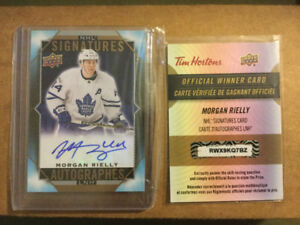 UD Tim Hortons 2017/18 Signatures Cards 1,447 total made