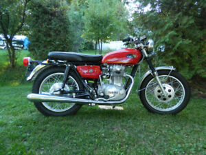 yamaha xs 650 1971  special d'automne