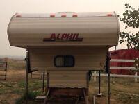 1991 Alphil truck camper