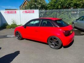 image for 2011 11 AUDI A1 1.6 TDi SPORT 3 DOOR IN PEARL RED WITH SUBBTLE MODIFICATIONS .