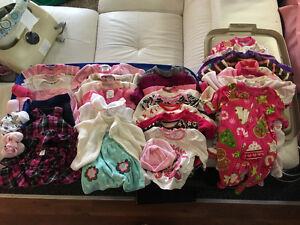 Box of baby girls clothes for sale! Make me an offer!