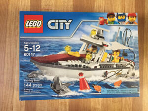 LEGO City Set #60147 - Fishing Boat - New Sealed Package