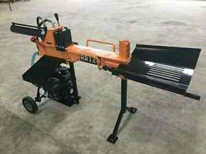 Range Road 120  12 ton fast log splitter