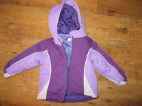 Children's Place 3 in 1 jacket baby girl size 12-18 months