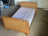 Crib that converts to a toddler bed