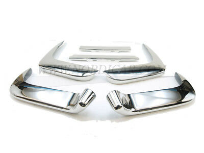 Volvo 664654 Bumper set complete stainless steel Front + Rear P1800 61-64