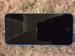 Blue Iphone 5C - good condition