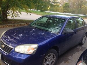 For sale 2007 Chevrolet Malibu in excellent condition