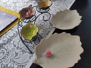 Leaf Dish Serving Tray