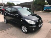 2010 HYUNDAI i10 COMFORT 5 DOOR 1.2 PERTOL MANUAL 88,000 MILES WARRANTED
