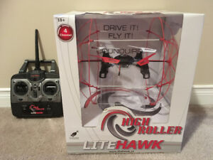 (NEW) LiteHawk HighRoller Drive and Fly Drone