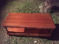 Large YEW REAL QUALITY coffee table