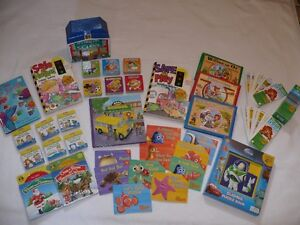 Wide selection of children's books & brain quest learning cards.