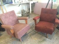 Retro Lounge Chairs