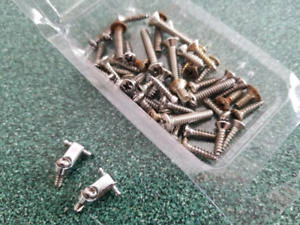 LOT OF FENDER GUITAR SCREWS FREE TO GIVE AWAY