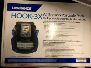 Fish Finder Lowrance Hook - 3x All Season