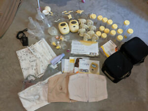TWO Medela Freestyle Breast Pumps + All Accessories