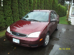 2007 Ford Focus S.E.Sedan