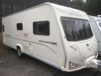 ☆ 2009/10 BAILEY SENATOR INDIANA ☆ ☆ 4 5 BERTH FIXED BED TOURING CARAVAN ☆ ☆