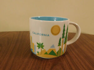"Starbucks ""California"" You Are Here Collection Mug- Brand New"