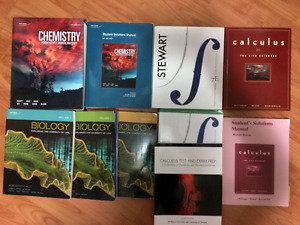 UTSC 1st and 2nd year textbooks
