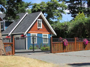 Custom Aluminum Driveway Gates & Automated Gate Opening Systems! Comox / Courtenay / Cumberland Comox Valley Area image 7