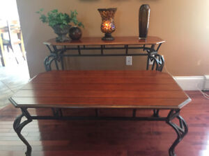 Sofa table and side table- 2piece