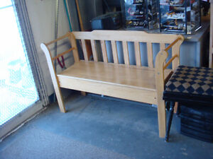 Entryway benches