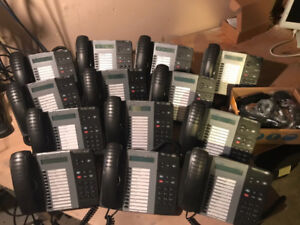 MITEL 5312 IP Phone - Lot of 14 (1 still in box), Excellent Cond