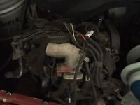 Ford Focus Duratec RS engine