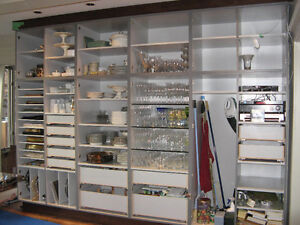 SHELVING, CABINETS, FURNITURE / PAINTING/REFINISHING