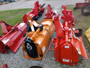 New Woods, Cherokee & Power-Line 3pt Hitch Rotary Tillers