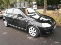 04 Vauxhall/Opel Corsa 1.3CDTi 16v 1296cc 2004MY SXi in Black