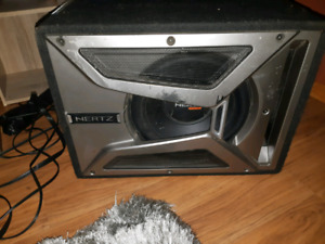 Hertz Sub and unknown amp