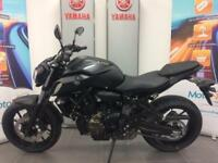 YAMAHA MT-07 ABS 2018 MODEL LOW RATE FINANCE DELIVERY ARRANGED