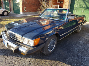 Mercedes 1986 560SL and 1987 420SEL Pair