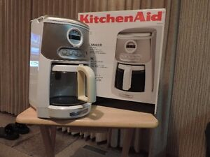 Kitchen Aid 14 cup coffee maker.