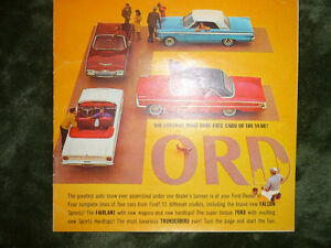 New Old Stock Ford Dealer Point of Sale Brochures