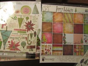 "Christmas Holiday 12""x12"" paper collections, all brand new"